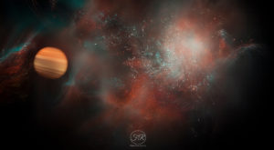 galaxy_and_Planet